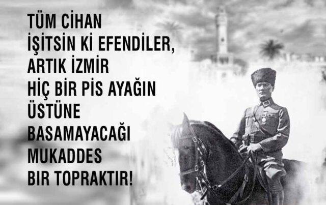9 Eylül İzmir'in Kurtuluşu kutlu olsun: 9 Eylül kutlama mesajları, İzmir'in Kurtuluşu mesajları - sözleri ve 9 Eylül'ün önemi!